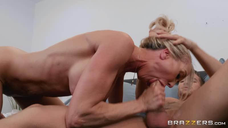 Brandi Love Lesbian Kissing