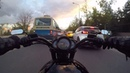 Ankara da trafikte Vrod Night Rod Special Harley Davidson sürmek 1. bölüm