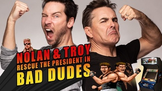 RETRO REPLAY - Nolan and Troy Rescue the President in Bad Dudes