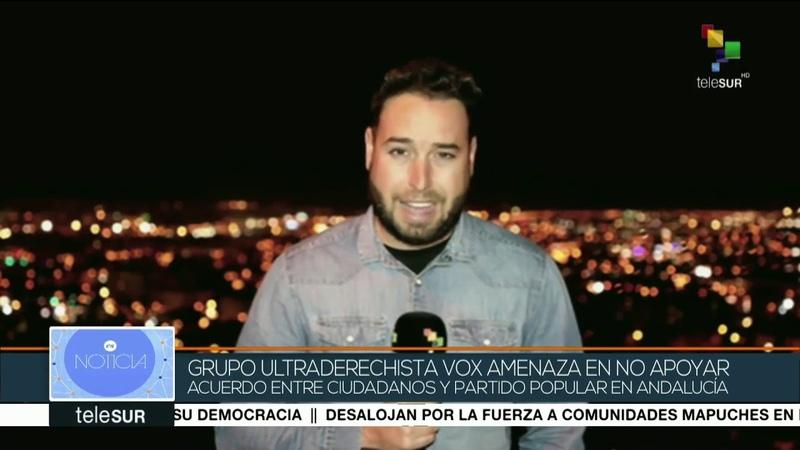 España: Vox amenaza con no apoyar acuerdo entre Ciudadanos y PP