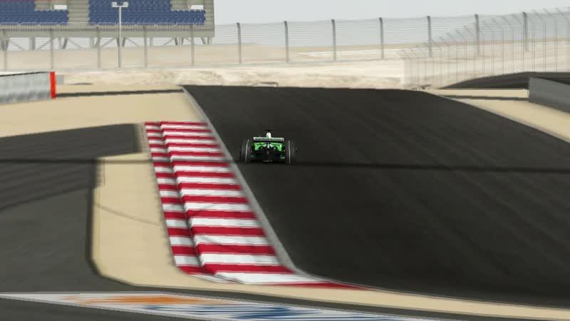 RFactor F1 2008 Championship Bahrain GP Sakhir Test Lap