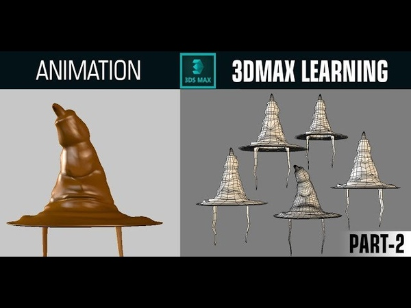 Easy Tutorial Modeling Harry Potter Sorting Hat with Poly modeling in 3d max