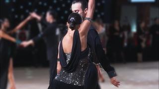 Alexander Chernositov and Arina Grishanina (USA) - Star Ball 2019 - Amateur Latin   QF Rumba