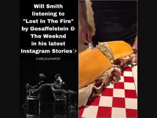 Инстаграм-история Уилла Смита