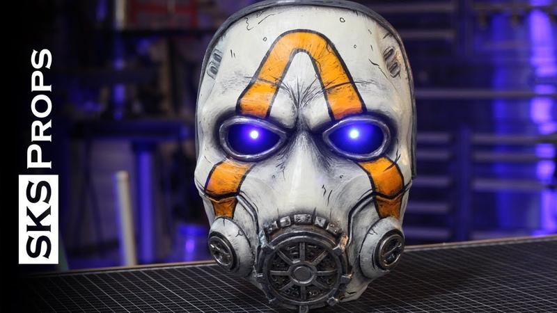 SKS Props builds a Psycho Mask from Borderlands 3