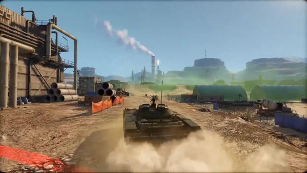 Armored Warfare Проект Армата. Командирский прицел Объект 287