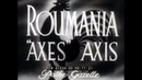 1944-45 WWII NEWSREEL MOVIE SOVIETS in ROMANIA, ALLIES in FRANCE, NAZI ARCTIC BASES 41334