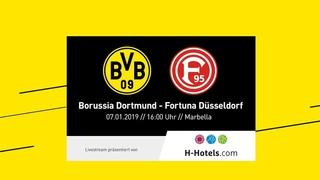 LIVE | BVB - Fortuna Düsseldorf | Das erste Testspiel 2019