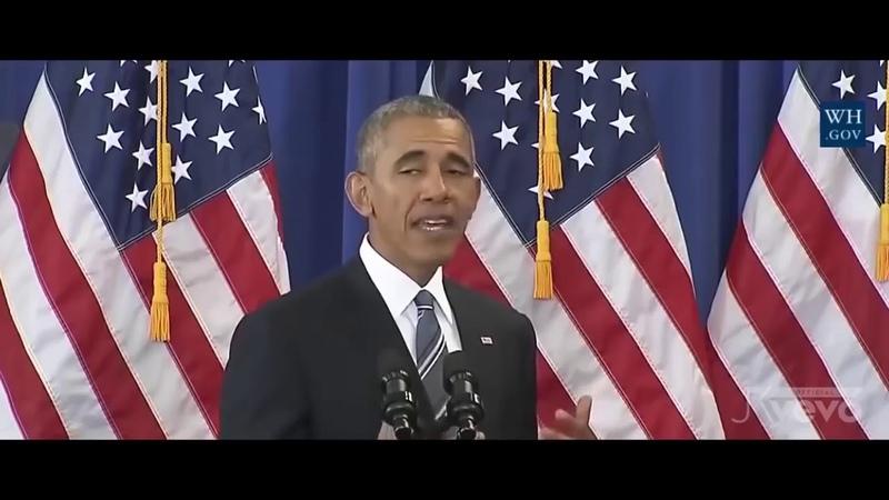 Ed Sheeran - Shape of You Barack Obama