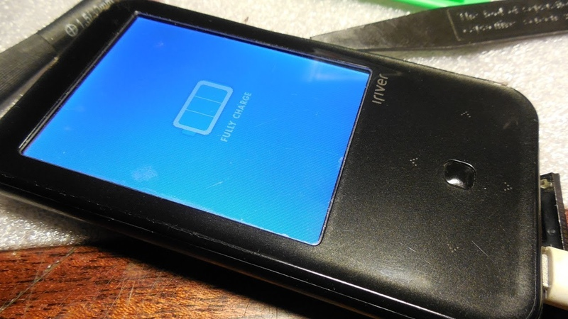 Плеер IRiver S100 замена аккумулятора