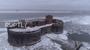 Drone captures chilling footage of Saint Petersburg's 'PLAGUE FORT'