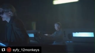 """Brooke Williams on Instagram: """"This episode was so fun to make. I miss living in Hannah's savage life 😌🔪💓 #12monkeys"""""""
