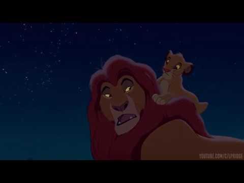 Великие короли прошлого глядят на нас с этих звёзд Король Лев 1994