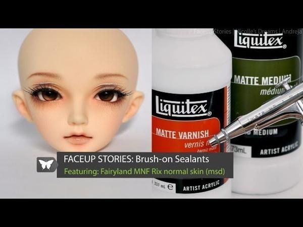 Faceup Stories Brush on Sealants