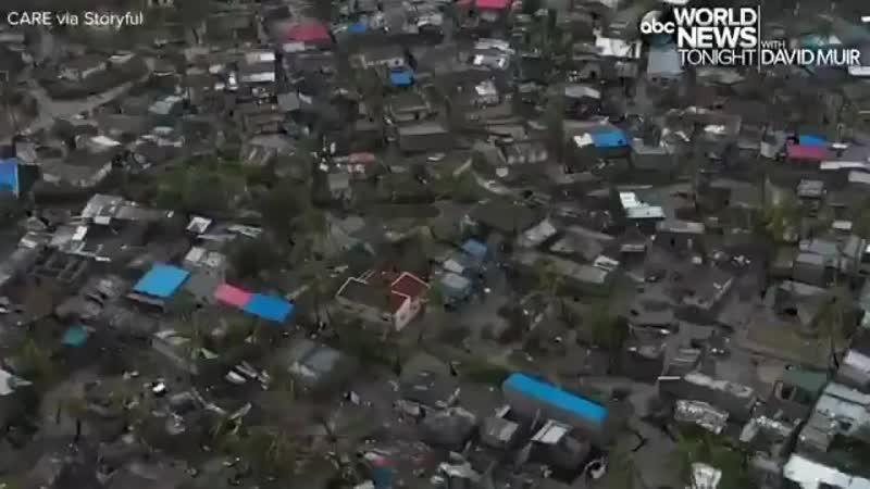 Ciclón idea - Los funcionarios de Malawi creen que el 90 de Beira, una ciudad de 500 000, está destr.mp4