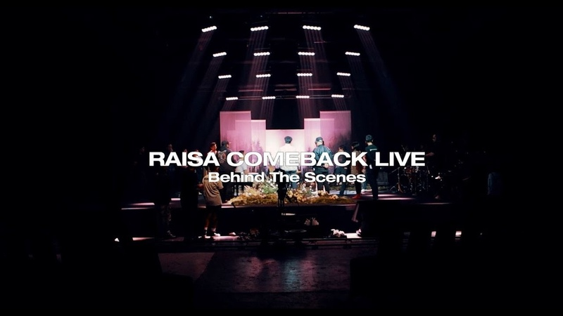 Behind The Scene - RAISA Comeback Live with VLIVE