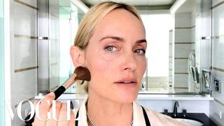 Amber Valletta's Secret to Her Natural Supermodel Glow