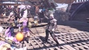 Dancing Toss a coin to your Witcher in Monster Hunter World