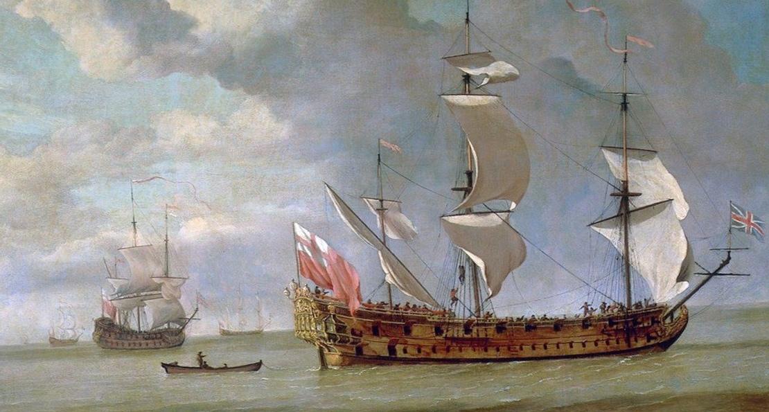 Британский корабль