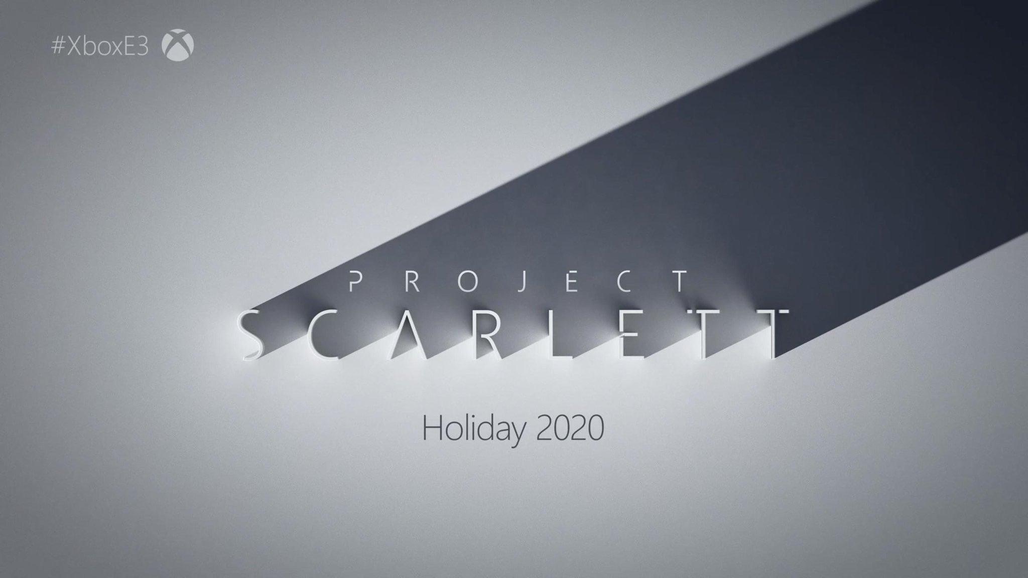 Microsoft анонсировали новую консоль Project Scarlett в продаже в конце 2020 года.