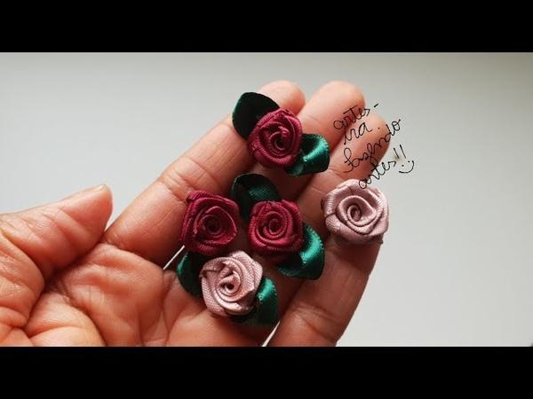Flor Rococó, 2 formas de finalizar