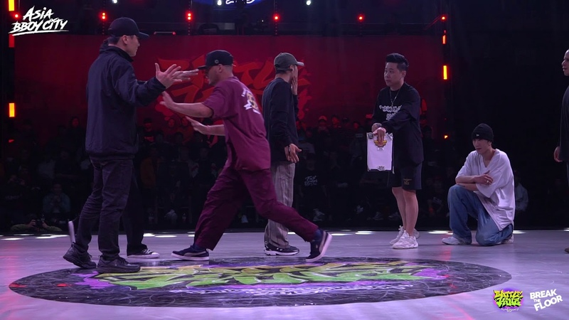 Fusion MC vs Elecution | 8-4 | Bboy 4on4 | Battle King 2019 x Break The Floor