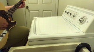 You gotta fight for your right to LAUNDRY White Trash Washer Cover