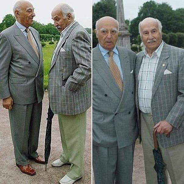 101-летний Владимир Зельдин и 94-летний Владимир Этуш.. Стиль