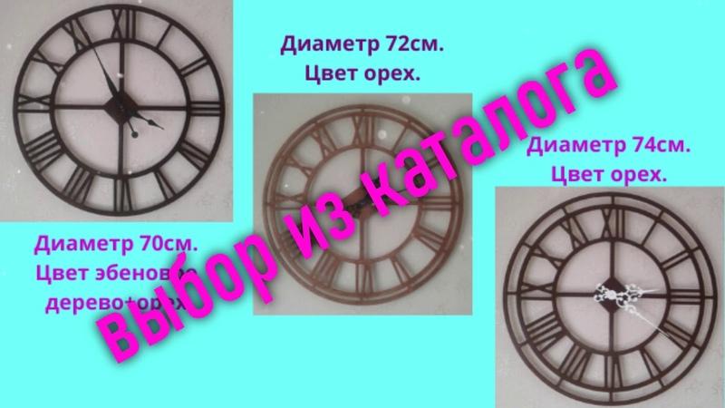 Большие настенные часы у Вас в доме