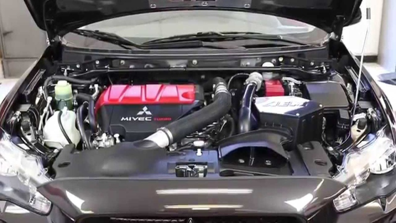 Installation of the AEM air intake system for the 2008-2014 Mitsubishi Lancer Evolution 2.0L