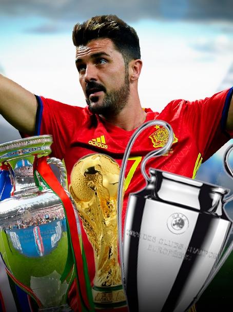 Давид Вилья, который выиграл все. Лучший бомбардир в истории сборной Испании прощается с футболом