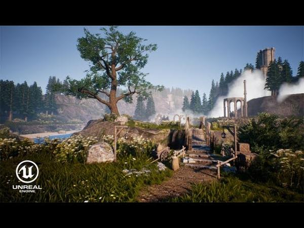 Speed Level Art Fantasy Scene Unreal Engine 4