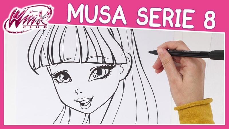 Winx Club Serie 8 Come disegnare Musa TUTORIAL