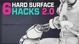 6 Maya Hard Surface Modeling Hacks 2.0
