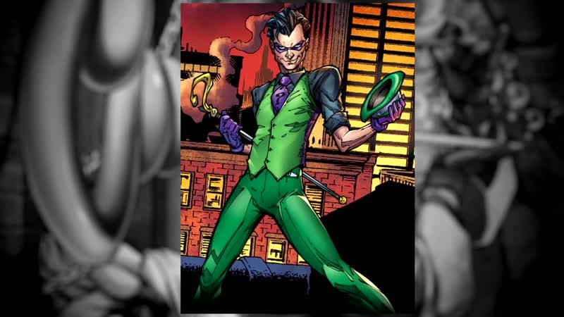 Комикс-гайд 47. Ридлер (Эдвард Нигма / Загадочник). Путь к загадке   Mr.Negative Комиксы