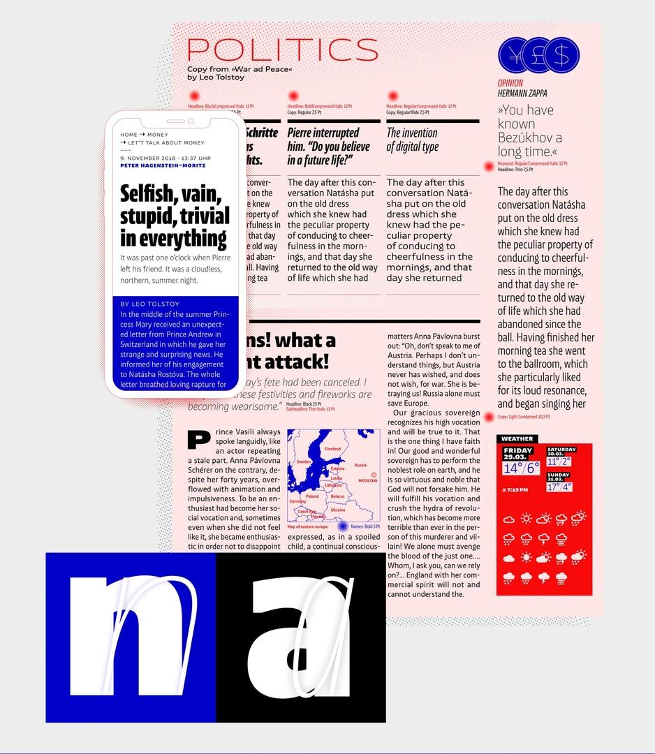 шрифт NewsSans
