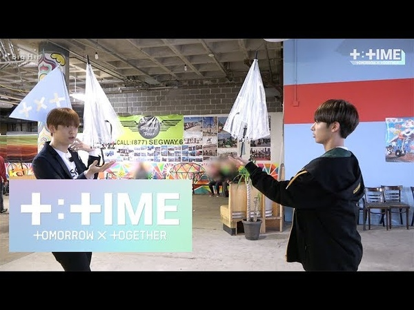 [T:TIME] Who is the winner of 'Umbrella game'? - TXT (투모로우바이투게더)