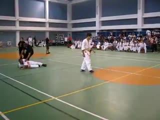 Глубокий КО в карате