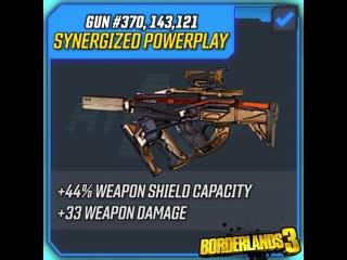 Оружие Borderlands 3 – синергетический интриган