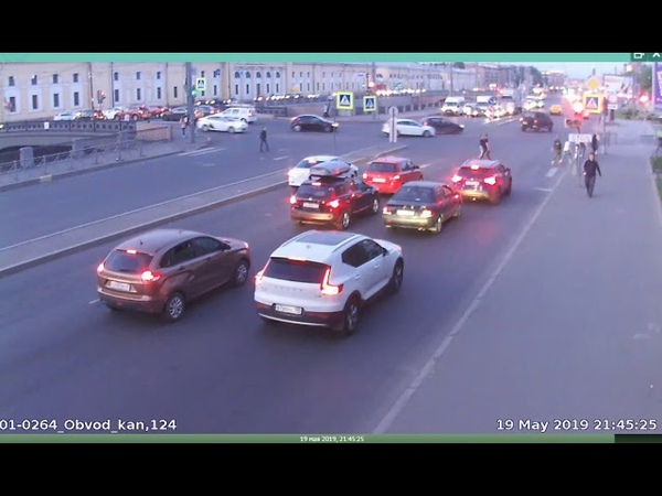 Дтп с мото 19 05 2019 на перекрестке Обводного канала и Митрофаньевского ш 1