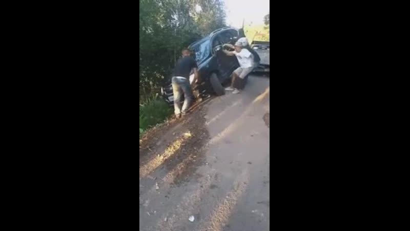 Угробили машину