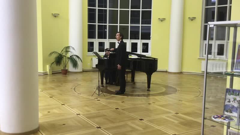 Фрагменты концерта Мой гений мой ангел мой друг
