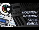 XStation Voice Editor