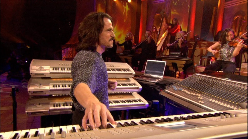 """Yanni - On Sacred Ground""""_1080p From the Master! Yanni Live! The Concert Event"""