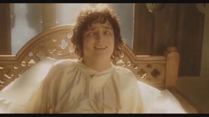 Frodo wakes up