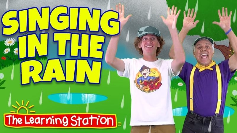 Singing in the Rain Song ♫ Original Kids Version ♫ Kid Songs by The Learning Station Dream English