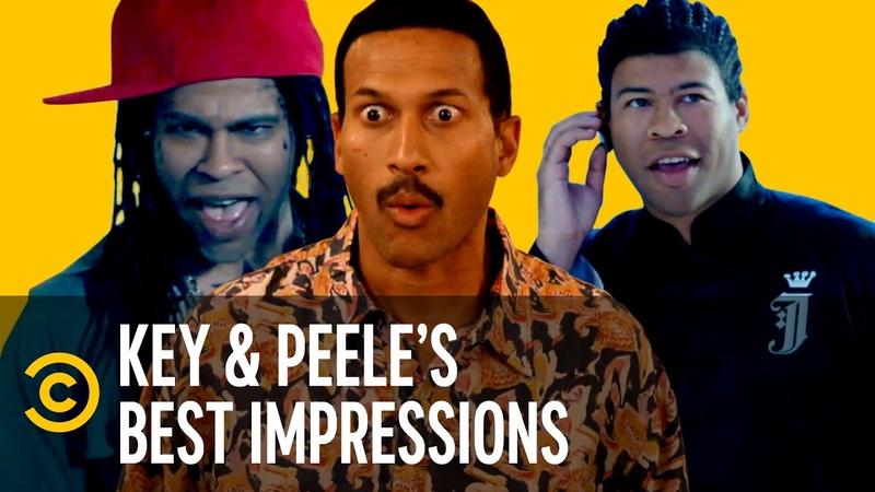 Key Peele's Best Celebrity Impressions, Volume One - Key Peele