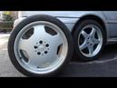 Mercedes Benz C43 AMG W202, OEM AMG 17 5 Spoke vs 18 Monoblock Wheels