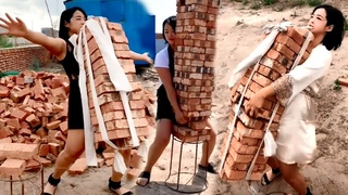 Amazing Fast Woman Construction Worker And Tools ▶2