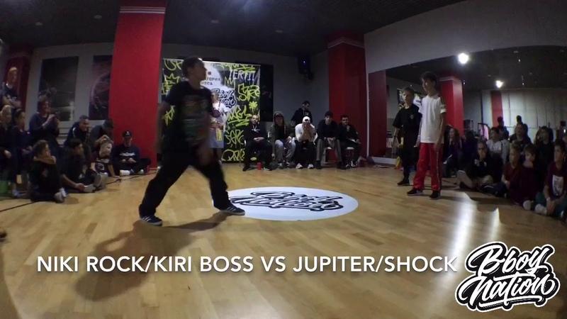 NIKI ROCKKIRI BOSS vs JUPITERSHOCK | KIDS 2x2 | TOP 8
